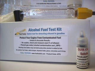 Order Alcohol Fuel Test Kit. (AFTK06 shown).