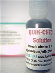 Quik-Check Solution 15ml dropper bottle.